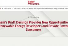 Photo of Vietnam's Draft Decision Provides New Opportunities for Renewable Energy Developers and Private Power Consumers