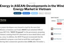 Photo of Energy in ASEAN: Developments in the Wind Energy Market in Vietnam